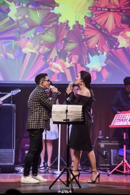 Raisa & Afgan Romantic Night with Smule 2016