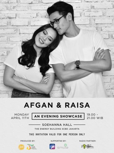 AFGAN & RAISA Romantic Night with SMULE - Jakarta