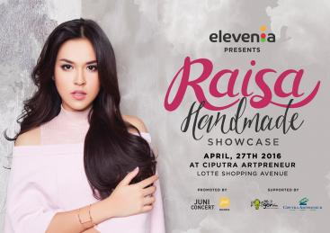 Elevenia Presents: Raisa Handmade Album Launching 2016